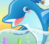 Дельфин и шарики